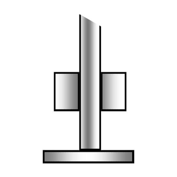 roerstander – galvaniseret